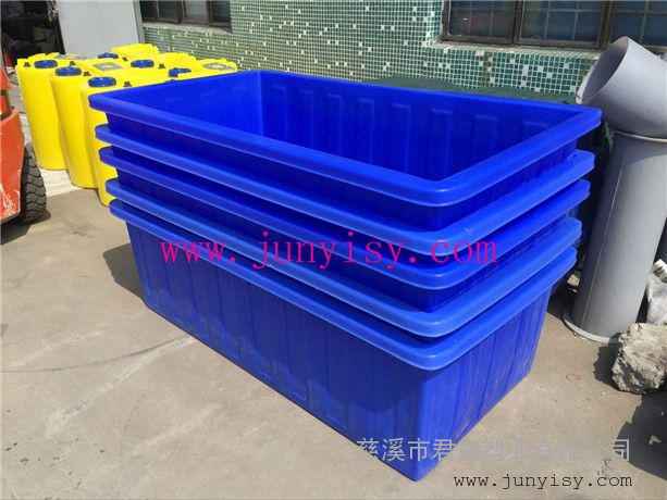 嘉兴1500升方形印染桶 纺织布料桶