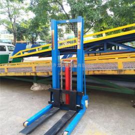 1吨1.5吨2吨3吨升高1.6米手动液压堆高车装卸车叉车