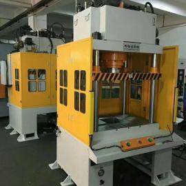 80吨大台面油压机、100吨四柱冲压机