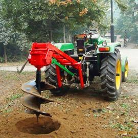 优质耐用林业挖坑机 拖拉机带挖坑机