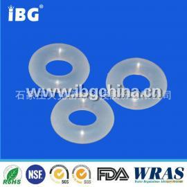 o型圈食品级硅胶 FDA认证 耐高温 白色半透明