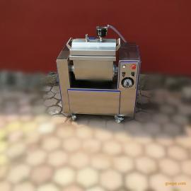 诸城万业制造水饺用10公斤小型真空和面机