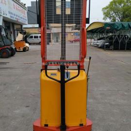 限时折扣1吨2吨半电动液压升高车堆高车装卸车电动叉车铲车