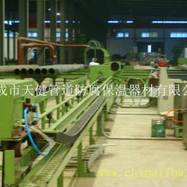 【威海厂家供应】管道液体内喷涂防腐生产线 管道内防腐生产线 内