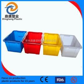 南京200L塑料周�D箱物流箱零件盒