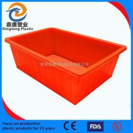 南京120L塑料周转箱物流箱零件盒