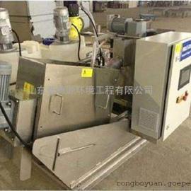 RBK-101叠螺式污泥脱水机厂家 螺旋式压滤机设备图纸 煤泥压滤机