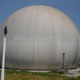 河北保定市农民合作社沼气项目专用300立方双膜气柜