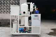 徐州弘宇工程ZJD-S-10润滑油脱水真空滤油机发货现场