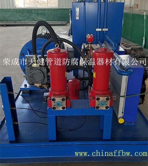 【厂家供应】管道内抛丸除锈生产线 管道内壁抛丸清理机
