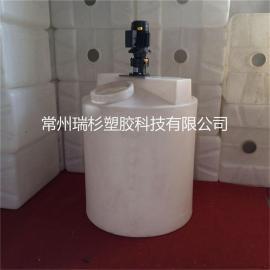 厂家直销,质量可靠,1000L搅拌桶,圆柱加药箱