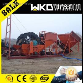湖北武汉供应XS2618三排轮斗洗砂机 搅拌站石粉水洗轮