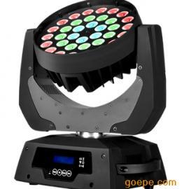 36颗LED摇头调焦染色灯