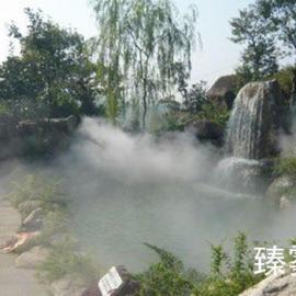 宁波人造雾设备-喷雾降温-景观人造雾