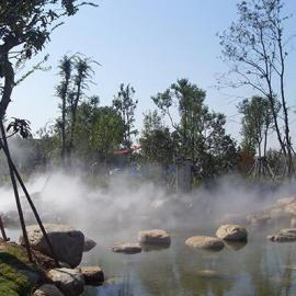 丽江人造雾工程-人造雾设备-雾森景观