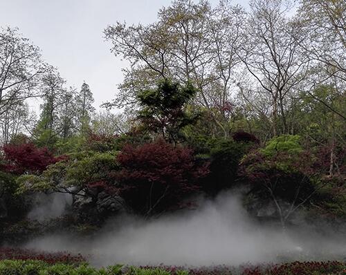 台州房地人造雾设备-产雾森景观-人造雾
