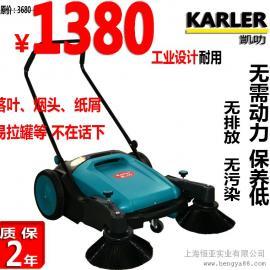 凯叻手推式扫地机无动力扫地机工厂车间环卫手推式扫地机工业