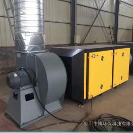 直销uv光解废气净化设备光氧催化尾气除臭装置安装