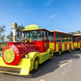 景区观光小火车燃油观光小火车无轨观光小火车