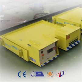 铁包搬运轨道平板车 重型轨道车 防高温电动小车