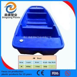 江西九江4m6m塑料渔船渔民渔船观光船