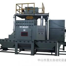 钛板专用加压式自动喷砂机