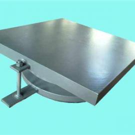 圆形钢铰板式支座