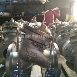 全不锈钢JD745X多功能水泵控制阀