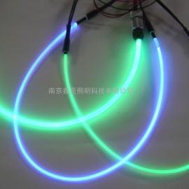高亮度氛围灯汽车用侧面发光散光光纤