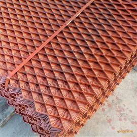 达州4*8公分菱形孔脚手架钢笆片-4mm板厚、喷漆、防滑