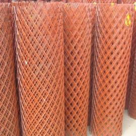 贵州外墙抹灰钢板网厂家-2米宽菱形孔钢板网抹灰挂网