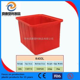 连云港400L塑料周转箱零件周转箱