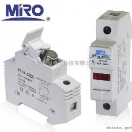 茗熔RT18-32(X)带指示灯熔断器座1P