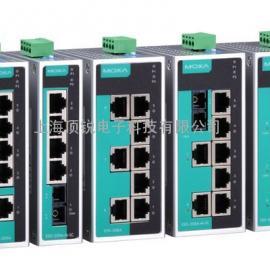 MOXA交换机EDS-208A 8口工业非网管型以太网交换机