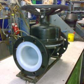 德国SED987型手动衬氟隔膜阀