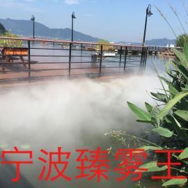 昆明景喷雾降温-观人造雾-人造雾设备