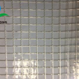 PVC透明�A网布 文件袋布 透明度高 撕拉力强