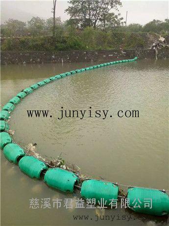 黑龙江河道拦污浮体 穿绳子警示拦污浮体