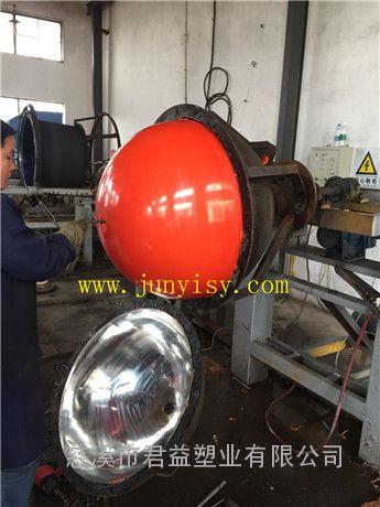 直径40公分单耳警示浮球 直径40公分中间穿绳子浮球