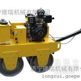 手扶压路机 小型双轮压路机 LRY600S 双轮压路机