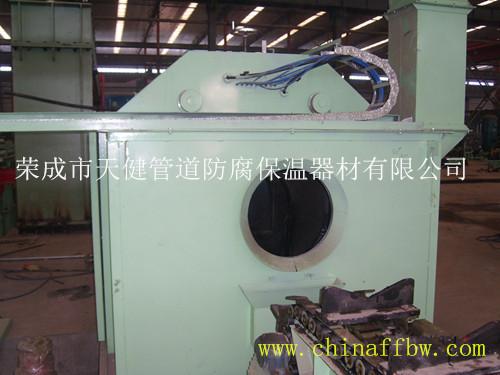 管道外液体喷涂防腐生产线 管道外防腐设备
