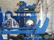 【厂家供应】管道外抛丸除锈生产线 管道外除锈设备