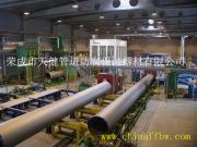 【厂家供应】管道外三层PE防腐生产线