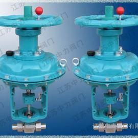 高压气动304SS焊接天然气截止阀