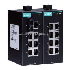MOXA交换机EDS-108 8口非网管型以太网交换机
