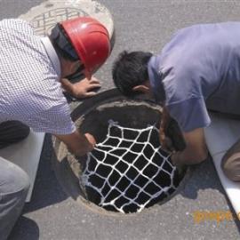河北厂家加工【抗老化】607080圆形井盖防坠网安装图片