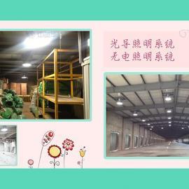钢结构厂房都在使用光导照明系统,因为不用电太省钱