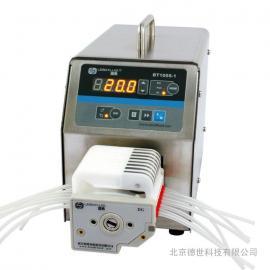 BT100S-1调速型蠕动泵-技术参数表