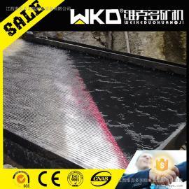 湖北襄阳供重力选矿设备6s玻璃钢摇床 铜粉精选摇床