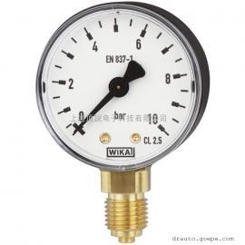 威卡波登管压力表型号111.10底部径向连接标准型